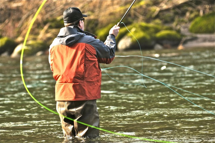 Spey to Swing Clackamas River Steelhead.