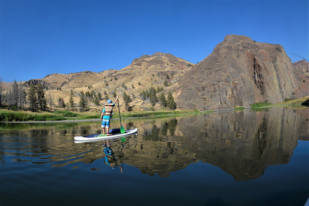 John day river sup stand up paddle boarding bass for John day river fishing