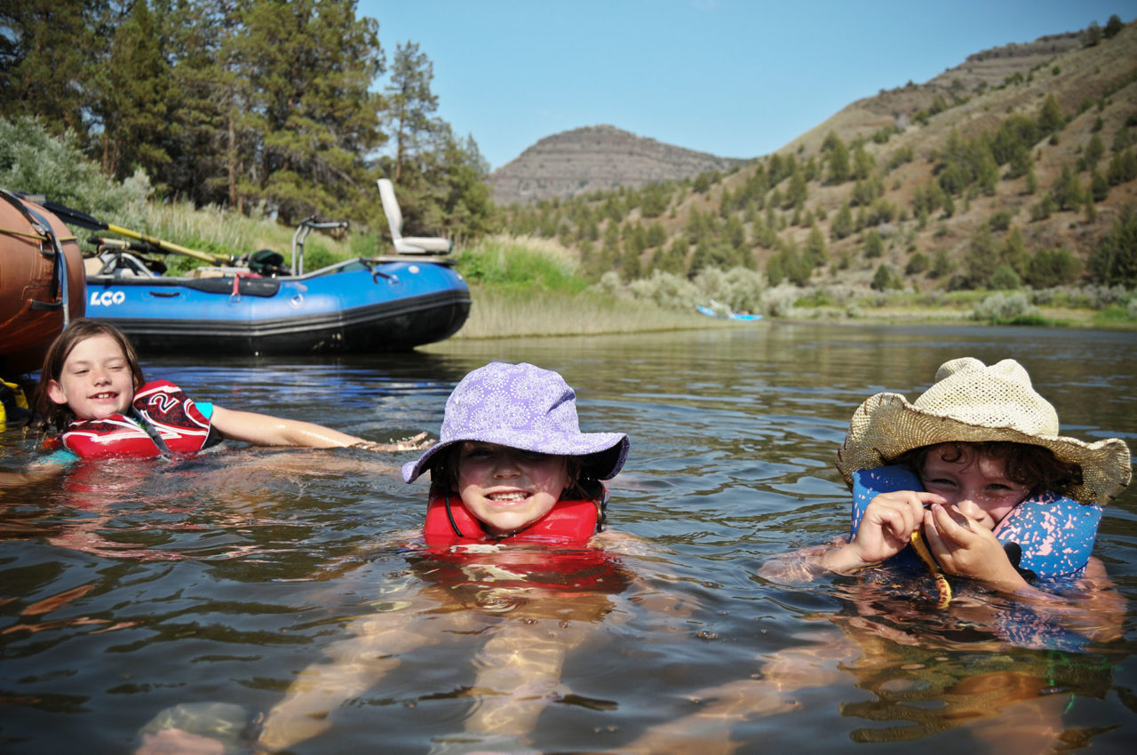 John day river kids camp trip little creek outfitters for Oregon free fishing day 2017
