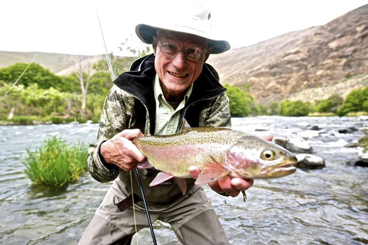 Deschutes river trout fishing trip little creek for How to fish for trout in a river