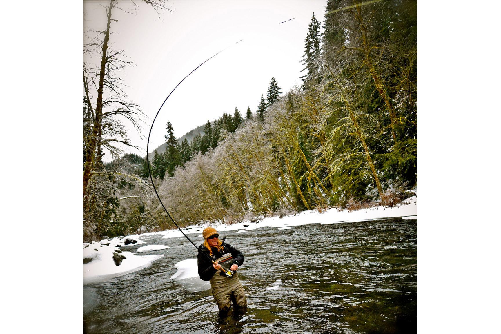 Sandy river winter steelhead fishing trip little creek for River fishing tips
